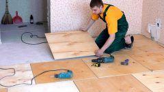 Как сделать укладку фанеры на деревянный пол под линолеум