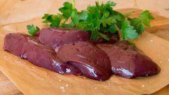 Как приготовить вареную говяжью печень