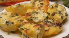 Как приготовить сливочную картошку под сыром