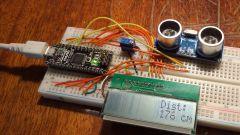 Как сделать ультразвуковой дальномер на HC-SR04 и Arduino