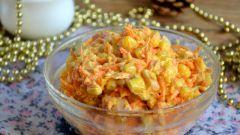 Как приготовить салат с корейской морковкой