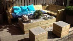 Дачная мебель своими руками из дерева: материалы и идеи