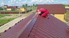 Как крепить оцинкованный конёк на шиферную крышу