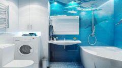 Некоторые особенности оформления ванной комнаты в морском стиле