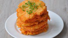 Как приготовить оладьи с луком и морковью