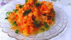 Как приготовить вкусную тушеную капусту с тыквой и морковью