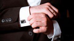 Стильный мужской образ: как выбирать запонки?