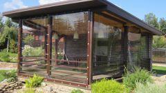 Мягкие окна: выбор материала