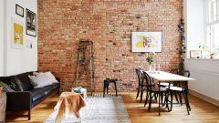 Как сделать дизайн стен под кирпич