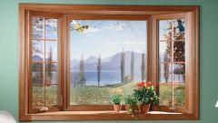 Как сделать имитацию окна на стене