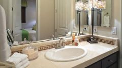 Как сделать мойку в ванную со столешницей