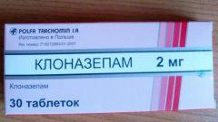 Клоназепам: инструкция по применению, показания, цена