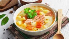 Готовим рыбный суп из семги