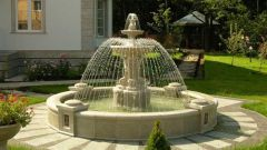 Как выбрать фонтан для дачи