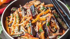 Как приготовить маринованные баклажаны с чесноком и морковью на зиму