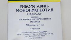 Рибофлавин: инструкция по применению, показания, цена