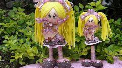 Куклы из фоамирана: мастер-класс для начинающих