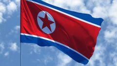 Флаг КНДР и его история