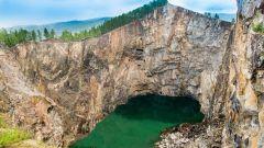 Туимский провал (Хакасия) - туристический объект техногенного происхождения