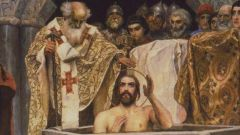 Обряд крещения в православии и католицизме