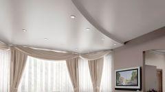Сатиновые натяжные потолки: плюсы и минусы