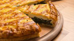 Пирог со шпинатом: рецепты