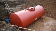 Подземный резервуар: устройство, назначение, монтаж