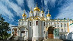 Благовещенский собор Московского Кремля: история, описание, иконы и росписи