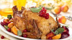 Как сделать курицу с сухофруктами