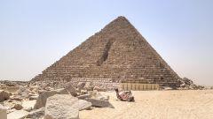 Пирамида Микерина: описание, история