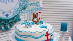 Топпер на торт - стильное украшение