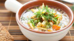 Как приготовить гречневый суп на курином бульоне