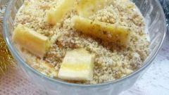 Как приготовить банановую шарлотку