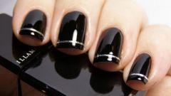 Дизайн черных ногтей: интересные идеи