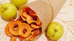 Как приготовить вкусные яблочные чипсы