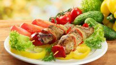 Салаты и закуски к шашлыку: рецепты