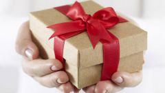 Подарок на день рождения своими руками