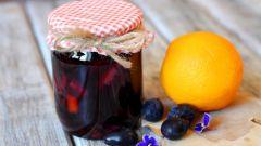 Варенье из сливы с апельсинами: просто и вкусно