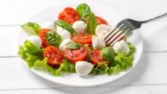 Диетический белковый салат для похудения