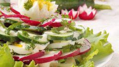 Рецепты салата с черемшой