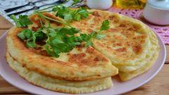 Ленивые хачапури с сыром на сковороде: рецепты