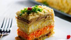 "Салат ""Наполеон"": рецепт, ингредиенты, фото"