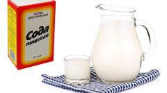 Молоко с содой от кашля: как принимать и лечебные свойства
