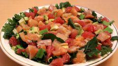 Салат с красной рыбой: вкусные рецепты