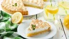 Оригинальная выпечка с лимоном: рецепты