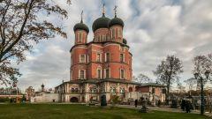 Донской монастырь в Москве : история, фото и описание