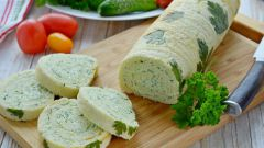 Как приготовить рулет из кабачков с сыром
