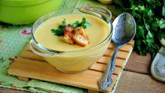 Как приготовить вкусный суп пюре из кабачков