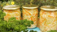 Как приготовить вкусный салат из капусты на зиму