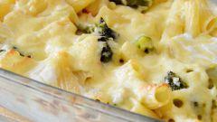 Макароны, запеченные с овощами: пошаговый рецепт с фото
